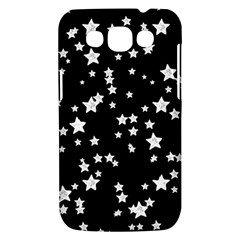 Black And White Starry Pattern Samsung Galaxy Win I8550 Hardshell Case