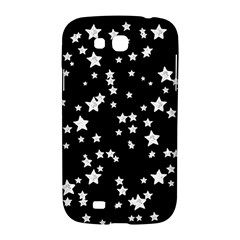 Black And White Starry Pattern Samsung Galaxy Grand GT-I9128 Hardshell Case