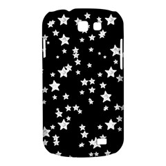 Black And White Starry Pattern Samsung Galaxy Express I8730 Hardshell Case