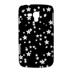 Black And White Starry Pattern Samsung Galaxy Duos I8262 Hardshell Case