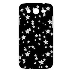 Black And White Starry Pattern Samsung Galaxy Mega 5.8 I9152 Hardshell Case