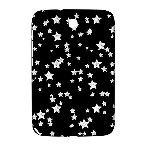 Black And White Starry Pattern Samsung Galaxy Note 8.0 N5100 Hardshell Case
