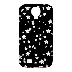 Black And White Starry Pattern Samsung Galaxy S4 Classic Hardshell Case (pc+silicone)