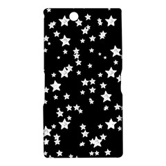 Black And White Starry Pattern Sony Xperia Z Ultra