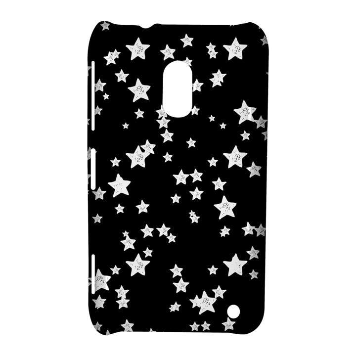 Black And White Starry Pattern Nokia Lumia 620