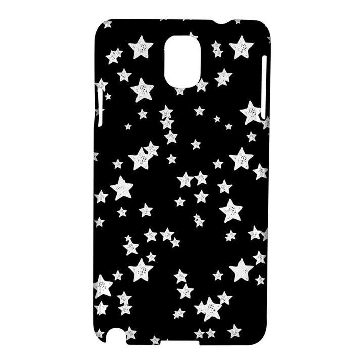 Black And White Starry Pattern Samsung Galaxy Note 3 N9005 Hardshell Case
