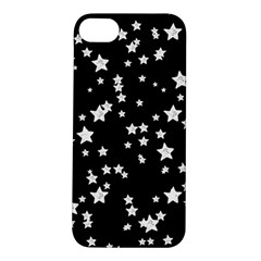 Black And White Starry Pattern Apple iPhone 5S/ SE Hardshell Case