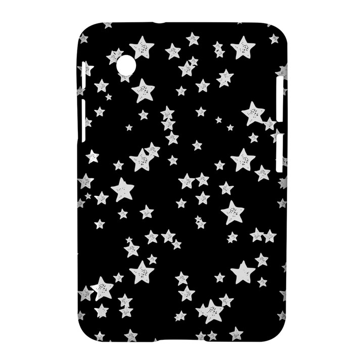 Black And White Starry Pattern Samsung Galaxy Tab 2 (7 ) P3100 Hardshell Case