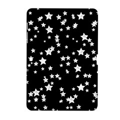 Black And White Starry Pattern Samsung Galaxy Tab 2 (10.1 ) P5100 Hardshell Case