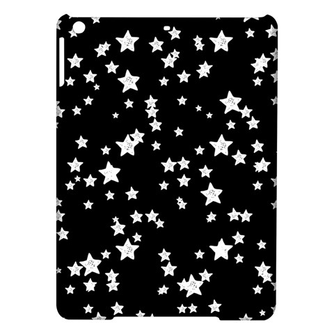 Black And White Starry Pattern iPad Air Hardshell Cases