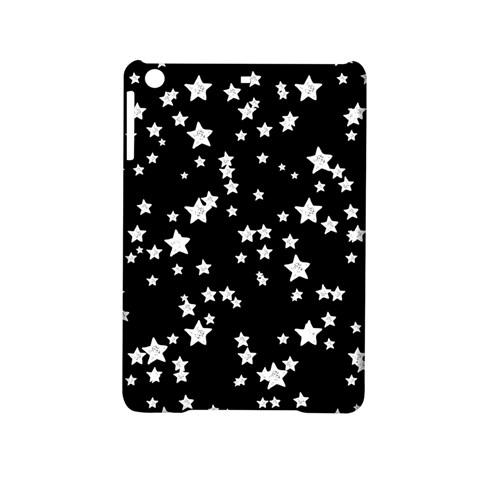Black And White Starry Pattern iPad Mini 2 Hardshell Cases
