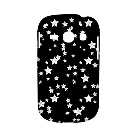 Black And White Starry Pattern Samsung Galaxy S6810 Hardshell Case