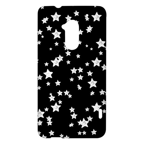 Black And White Starry Pattern HTC One Max (T6) Hardshell Case
