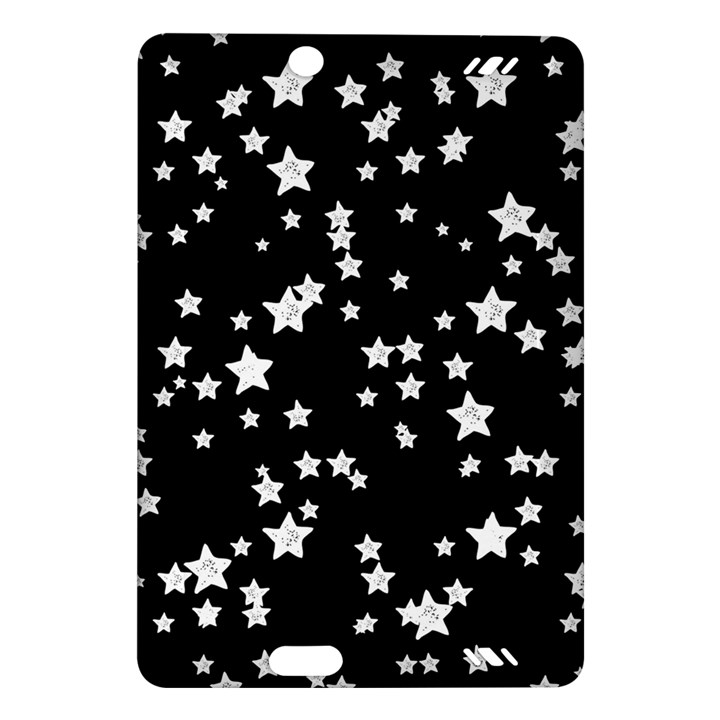 Black And White Starry Pattern Amazon Kindle Fire HD (2013) Hardshell Case