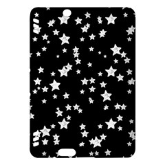 Black And White Starry Pattern Kindle Fire HDX Hardshell Case