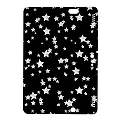 Black And White Starry Pattern Kindle Fire HDX 8.9  Hardshell Case