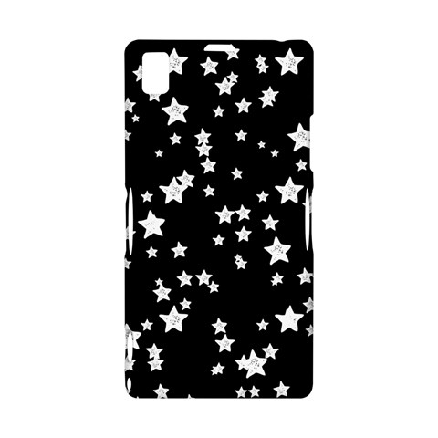 Black And White Starry Pattern Sony Xperia Z1