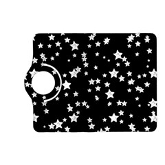 Black And White Starry Pattern Kindle Fire Hd (2013) Flip 360 Case