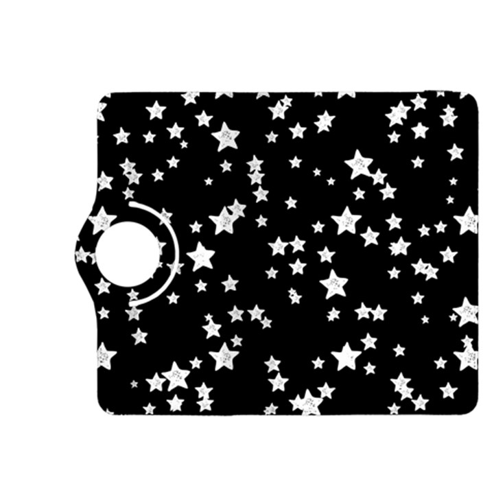 Black And White Starry Pattern Kindle Fire HDX 8.9  Flip 360 Case