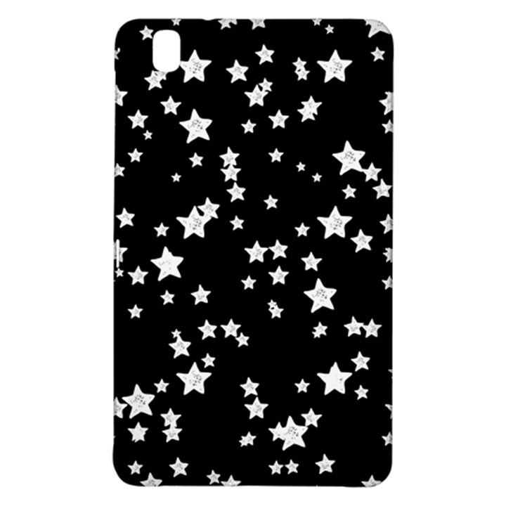 Black And White Starry Pattern Samsung Galaxy Tab Pro 8.4 Hardshell Case