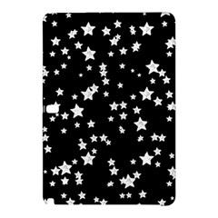 Black And White Starry Pattern Samsung Galaxy Tab Pro 12 2 Hardshell Case