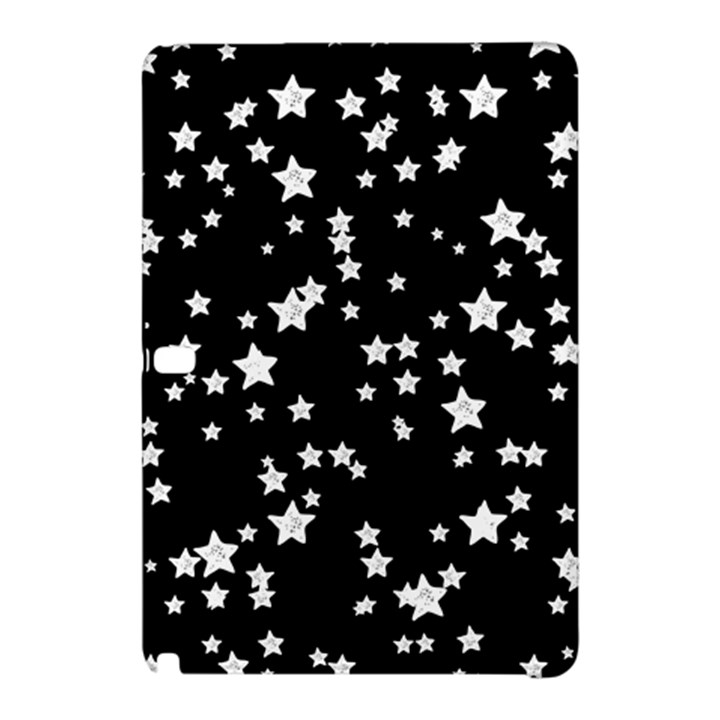 Black And White Starry Pattern Samsung Galaxy Tab Pro 12.2 Hardshell Case