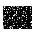 Black And White Starry Pattern Samsung Galaxy Tab Pro 8.4  Flip Case Front