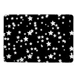 Black And White Starry Pattern Samsung Galaxy Tab Pro 10.1  Flip Case Front