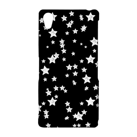 Black And White Starry Pattern Sony Xperia Z2