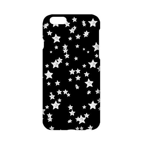 Black And White Starry Pattern Apple iPhone 6/6S Hardshell Case