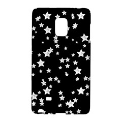 Black And White Starry Pattern Galaxy Note Edge