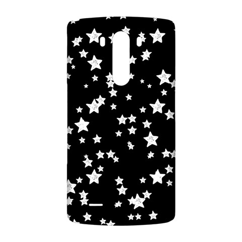 Black And White Starry Pattern LG G3 Back Case