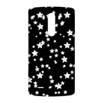 Black And White Starry Pattern LG G3 Back Case Front