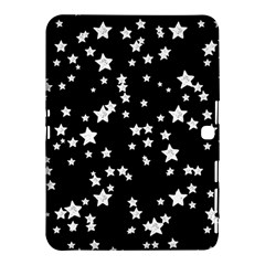 Black And White Starry Pattern Samsung Galaxy Tab 4 (10 1 ) Hardshell Case