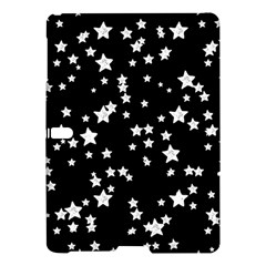 Black And White Starry Pattern Samsung Galaxy Tab S (10 5 ) Hardshell Case