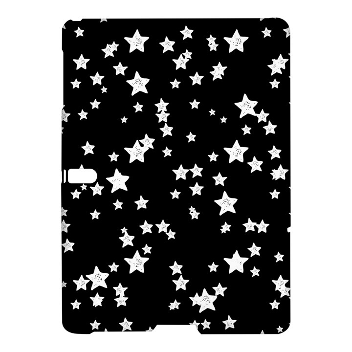 Black And White Starry Pattern Samsung Galaxy Tab S (10.5 ) Hardshell Case