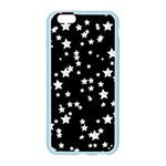 Black And White Starry Pattern Apple Seamless iPhone 6/6S Case (Color) Front