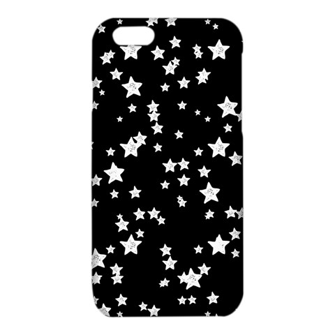 Black And White Starry Pattern iPhone 6/6S TPU Case