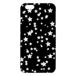 Black And White Starry Pattern iPhone 6 Plus/6S Plus TPU Case Front