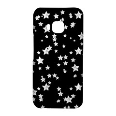 Black And White Starry Pattern HTC One M9 Hardshell Case
