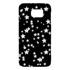 Black And White Starry Pattern Galaxy S6