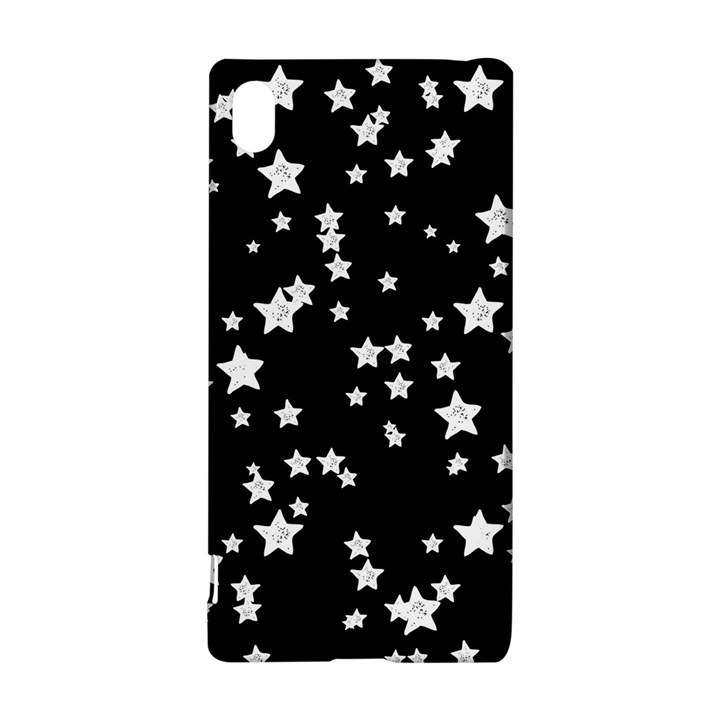 Black And White Starry Pattern Sony Xperia Z3+