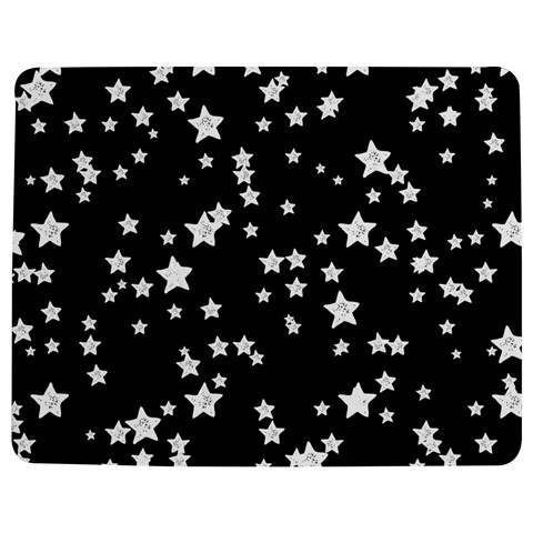 Black And White Starry Pattern Jigsaw Puzzle Photo Stand (Rectangular)