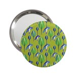 Tropical Floral Pattern 2.25  Handbag Mirrors Front