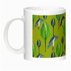 Tropical Floral Pattern Night Luminous Mugs