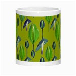 Tropical Floral Pattern Night Luminous Mugs Center