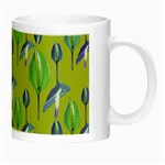 Tropical Floral Pattern Night Luminous Mugs Right