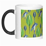Tropical Floral Pattern Morph Mugs Left