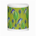Tropical Floral Pattern Morph Mugs Center
