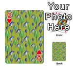 Tropical Floral Pattern Playing Cards 54 Designs  Front - HeartQ